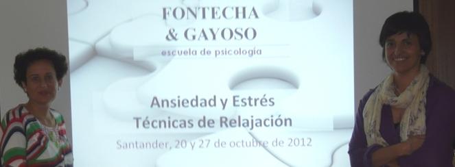 Presentación de la Escuela de Psicología en Santander con el curso Ansiedad y Estrés, Técnicas de Relajación