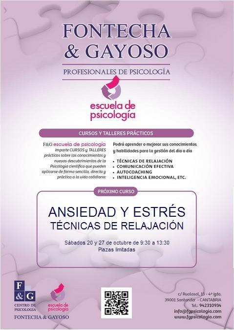 Curso de Técnicas de Relajación en Santander
